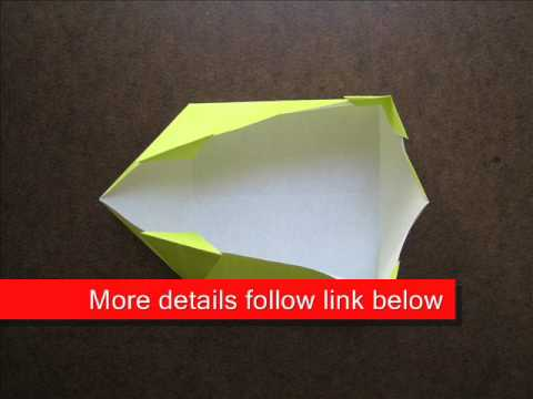 How to Fold Origami Nice Square Box - OrigamiInstruction.com