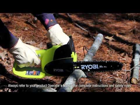 Ryobi Cordless Electric Chain Saw