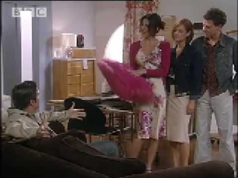 Cushion rage - Coupling - BBC comedy