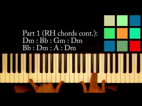 "How To Play ""Pirates Of The Caribbean"" Piano Tutorial (Part 1)"