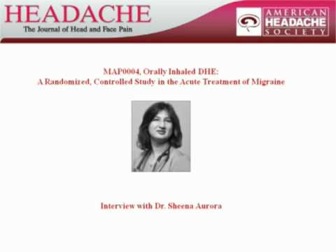 MAP0004, Orally Inhaled DHE: A Randomized, Controlled Study in the Acute Treatment of Migraine