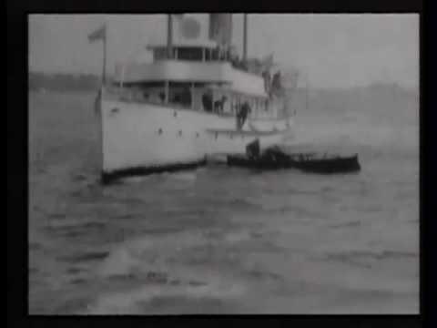 New York Harbor Police boat Patrol capturing pirates