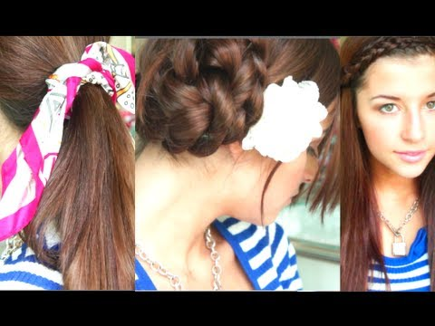 Cute Fast Back to School Hairstyles