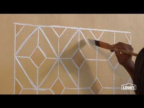 How to Create a Faux Hand Painted Tile Backsplash