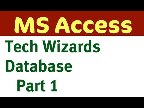 TechWizards Database - Part 1/2