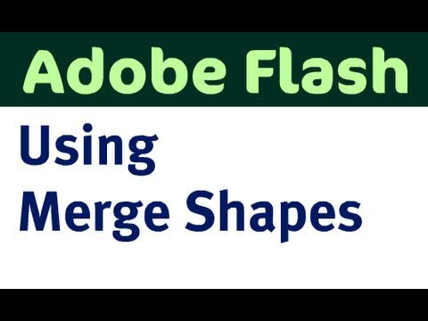 Using Merge Shapes in Flash