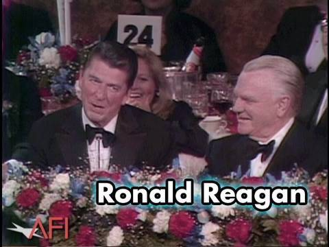 Ronald Reagan Tips His Hat and Heart To James Cagney