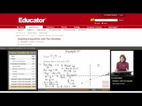Algebra: Inequalities with Absolute Values