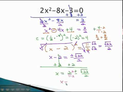 Complete the Square - Irrational and Complex Solutions - YouTube.mp4
