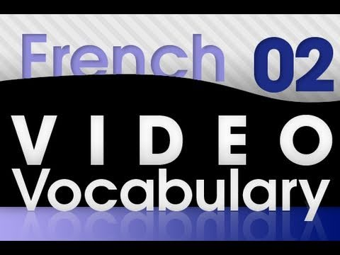 Learn French - Video Vocabulary #2