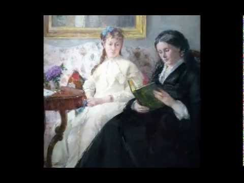 Morisot, The Mother and Sister of the Artist, c. 1869/1870
