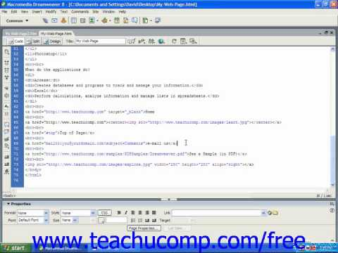 HTML Tutorial Alternative (ALT) Text Training Lesson 8.6