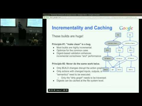 Building Software at Google Scale Tech Talk