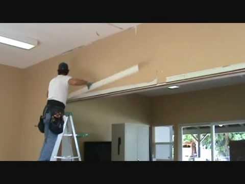 Removing door casing trim