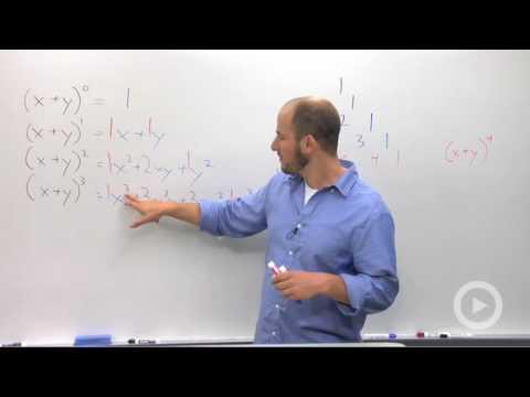 Algebra 2 - Pascal's Triangle