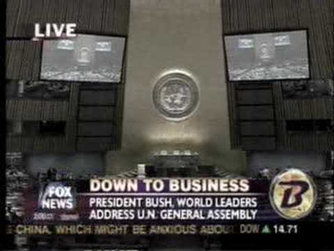 Spencer Boyer on UN - 9/25/07 - Fox News