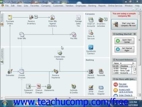 QuickBooks 2011 Tutorial Creating New Form Templates Intuit Training Lesson 17.1