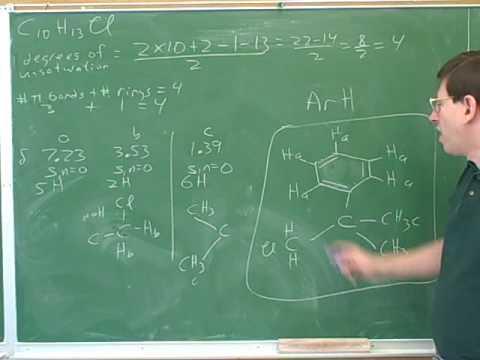 Proton NMR problems (10)