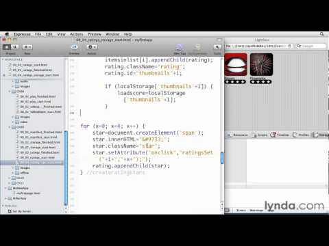 iOS 4 tutorial: Storing information in local storage | lynda.com