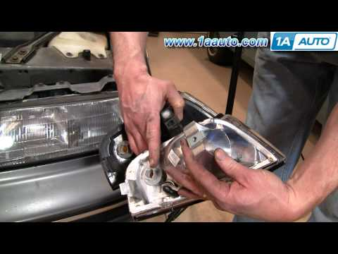 How To Install Replace Marker Signal Lights Chevy Lumina 90-94 1AAuto.com