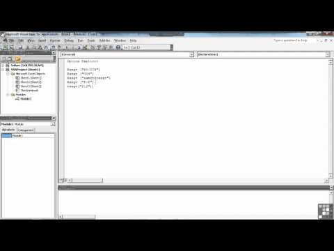 Visual Basic for Excel Tutorial | Referencing Cells using The Range | InfiniteSkills