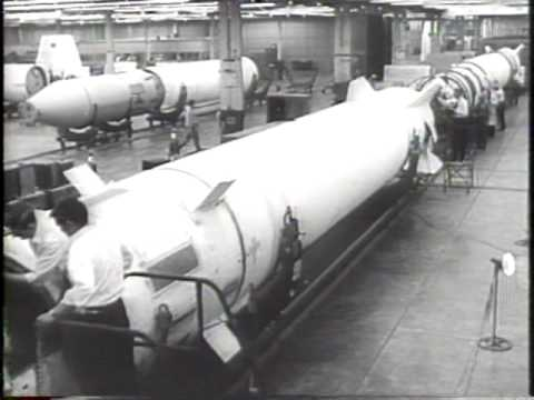 Redstone Missile In Production 1957 Newsreel
