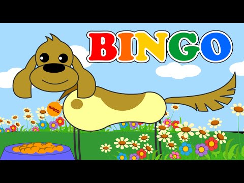 BINGO Song with Lyrics - Nursery Rhymes