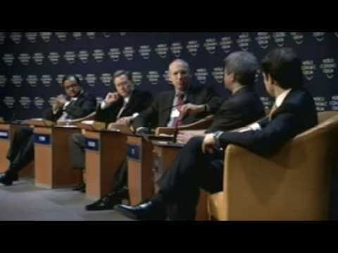 Davos Annual Meeting 2008 - Should We Fear Slowdowns?