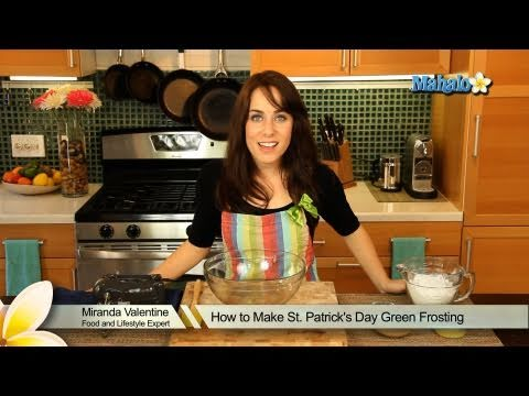 How to Make St. Patrick's Day Green Frosting