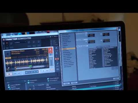 Traktor Scratch Pro, video 7 Managing you'r FX