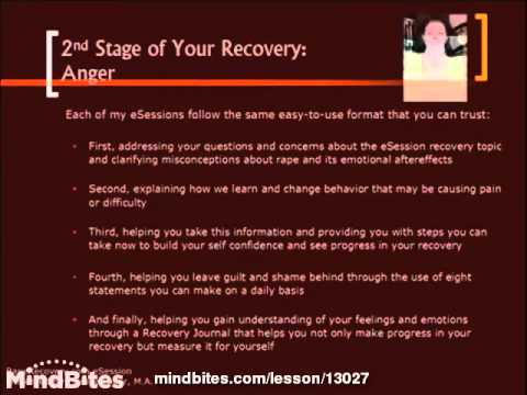 2nd Stage of Your Recovery: Anger