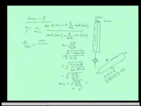 Mod-02 Lec-07 Extended surface heat transfer 2