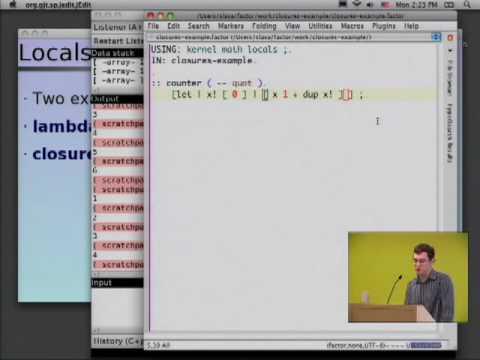 Factor: an extensible interactive language