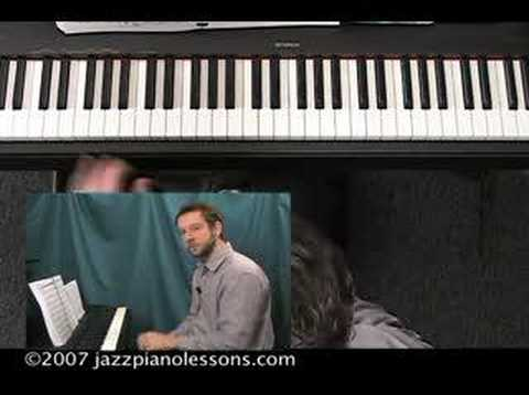 Jazz Piano Lesson E-lesson #8 [Shells & Melody]
