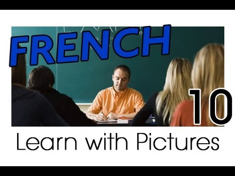 Learn French - French School Vocabulary