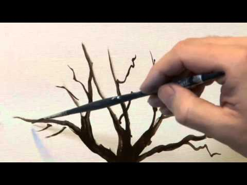 How To Create An Oil Painting Of A Tree