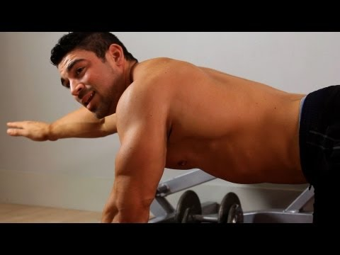 Two Point Bridge | Home Arm Workout for Men