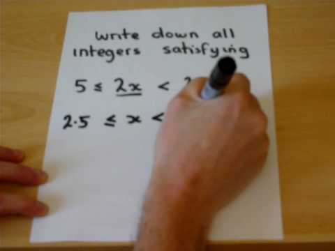 inequalities part 2 with Mathslearn - try the revision guides on Mathslearn.co.uk