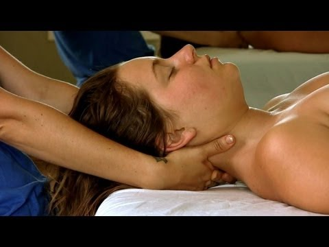 FULL HD Neck & Head Massage How To Give Upper Body | Jen Hilman Austin Massage Therapy