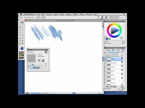 Painter, Wacom: Using art material selectors | lynda.com