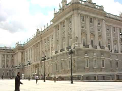 Royal Palace of Madrid from Plaza de Oriente