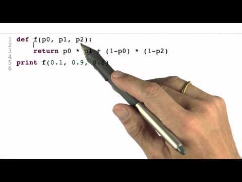 Cancer Example 1 Solution - Intro to Statistics - Programming Bayes Rule - Udacity