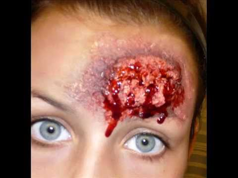 Halloween Series 2011: Fake Brains Makeup Tutorial