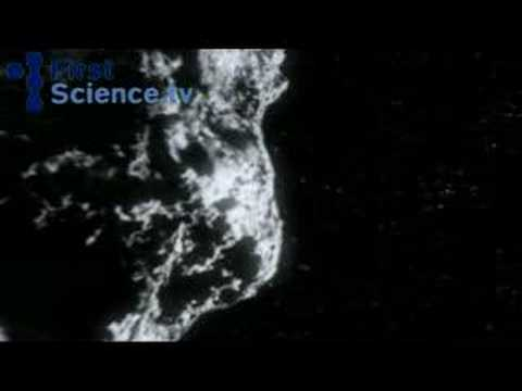 A near miss: The earth almost gets his by an asteroid
