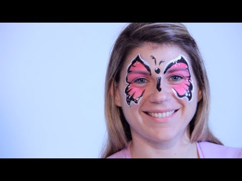 How to Do Face Painting: Butterfly
