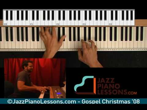 Learn Jazz & Gospel Christmas Piano Songs