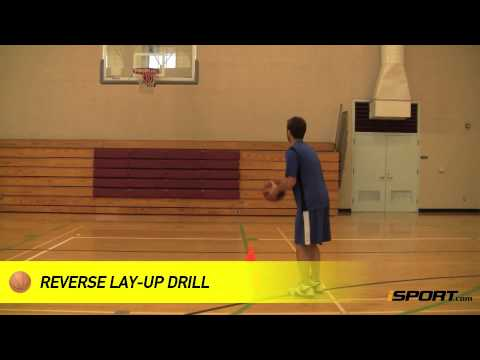 How to Shoot a Reverse Lay Up in Basketball