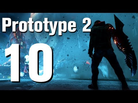Prototype 2 Walkthrough Part 10 - The Lab Rat [No Commentary / HD / Xbox 360]