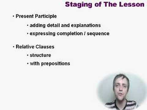 IELTS Writing 6.5 - Lesson4 Participle, Relative Clauses