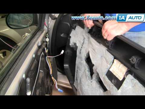 How To Install Replace Door Panel Dodge Stratus 01-06 1AAuto.com